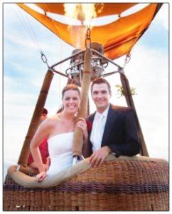 Воздушный шар на свадьбу