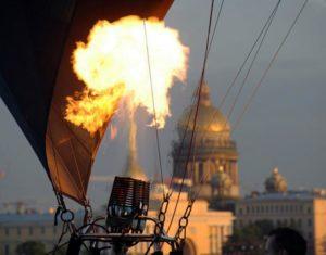 Полет над Санкт-Петербургом
