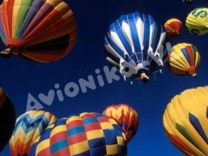 Повседневная фантастика - полёты на воздушном шаре