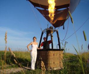 Полет на воздушном шаре в подарок